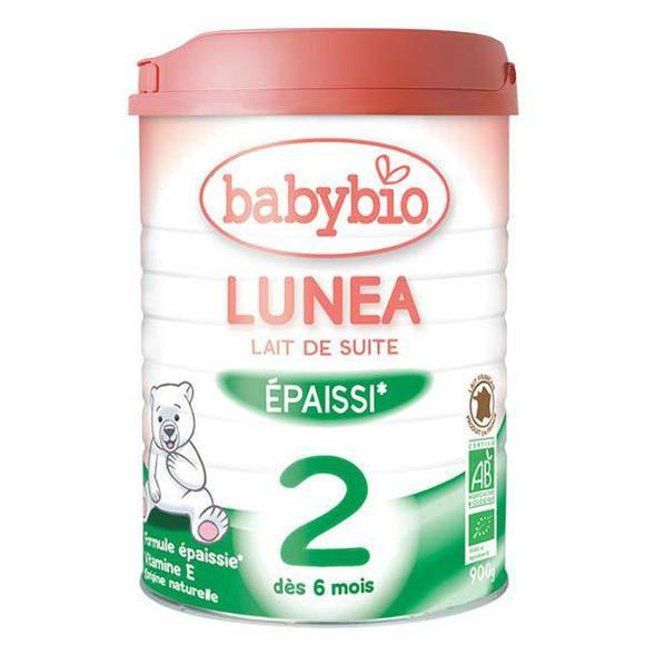 【法国BM】Babybio 伴宝乐2段 有机奶粉 900g罐