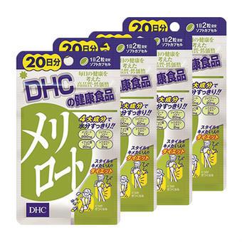 【多庆屋】蝶翠诗DHC 下半身纤体片 瘦腿 40粒4 2530日元 约¥152