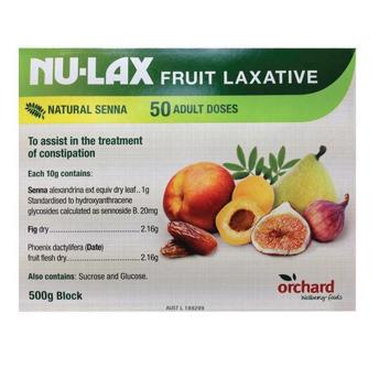 【澳洲CD药房】Nu-Lax 乐康膏 天然排毒养颜纤维果蔬泥 500g