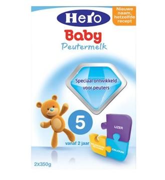 【荷兰DOD】Hero Baby 美素 5段婴幼儿配方奶粉 700g(适合2-7岁)