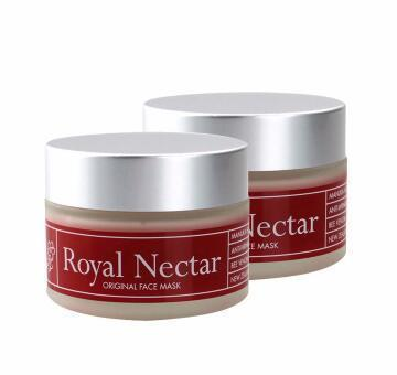 【2瓶装 包邮包税】Royal Nectar 蜂毒面膜 皇家蜂毒面膜 50ml(抗皱紧肤/美白保湿)