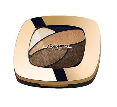 【荷兰DOD】L&#039Oreal Paris 巴黎欧莱雅 四色眼影 铜棕系 1盒