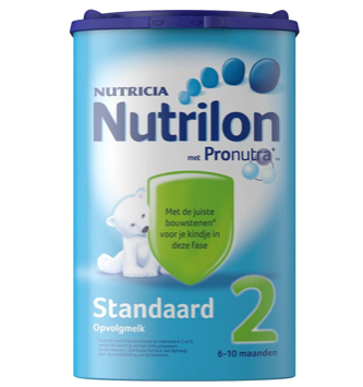 【荷兰DOD】Nutrilon 牛栏 婴幼儿标准配方奶粉2段 850g