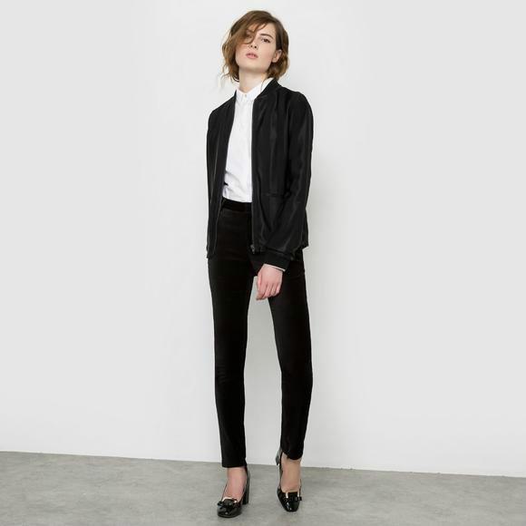 【法国LR】ATELIER R 缎面女士短夹克