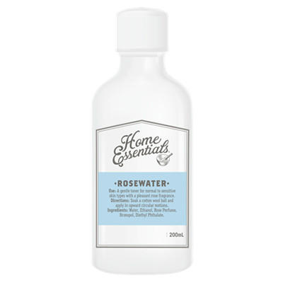 【新西兰PD】【凑单】Home Essentials 玫瑰花水爽肤水 200ml