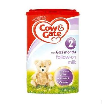 【6罐立减3镑】 Cow & Gate 牛栏 婴儿配方奶粉2段(6-12m)900g