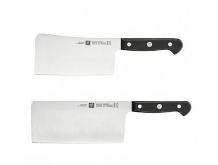 【德国BA】Zwilling 砍刀(15cm) 适用于砍剁鸡/鸭骨架/猪肋骨+中片刀(18cm)