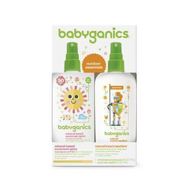 【美国Babyhaven】Babyganics 甘尼克宝贝 儿童驱蚊防晒喷雾组合装 6盎司