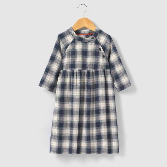 【法国LR】ABCD&#039R中袖格纹裙
