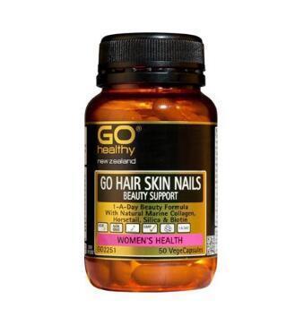 【满89纽免邮】Go Healthy 高之源海洋胶原蛋白提取物复合营养胶囊 50粒