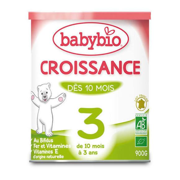 【法國BM】Babybio 伴寶樂3段有機成長奶粉900g