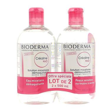 【85折】Bioderma 贝德玛 温和无刺激卸妆水粉水500ml 2瓶装【限购2件】