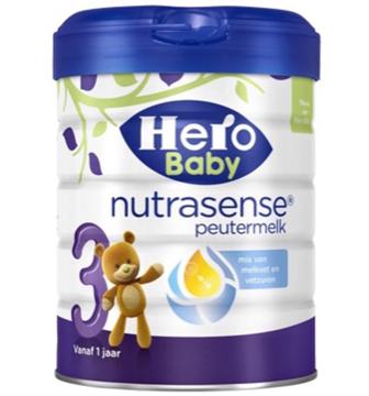 【荷兰DOD】Hero Baby 荷兰白金版 3段婴幼儿配方营养奶粉 700g(适合1岁以上)