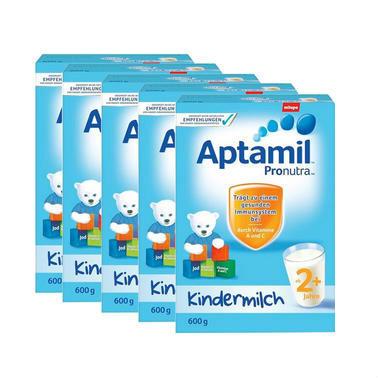 【德国DC药房】Aptamil 爱他美 超市版 婴幼儿配方营养奶粉 2+ 2岁及以上 600g5盒