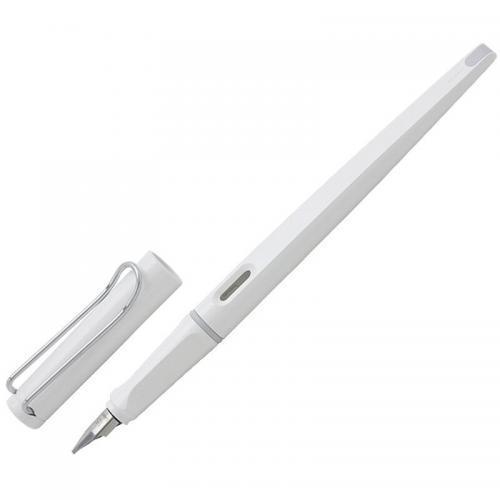 凌美LAMYJoy喜悦系列美工钢笔白杆银夹款M尖 现价141元!
