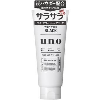 【多庆屋】【买三免一】资生堂shiseido 吾诺 UNO 天然碳洁面乳 130g