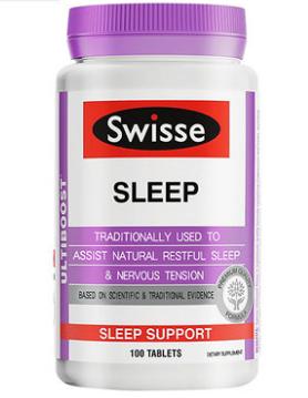 【澳洲RY药房】【限时特惠】Swisse 天然草本助眠片 100粒 (促进睡眠/改善睡眠质量)