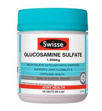 【澳洲PO药房】Swisse 氨基葡萄糖营养片 180片 (增加关节灵活性)