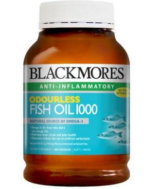 【澳洲PO药房】Blackmores 澳佳宝 无腥味深海鱼油胶囊 400粒