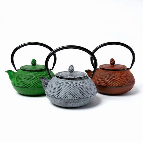【松屋百货】【凑单免邮】OIGEN 及源铸造 南部铁器系列茶壶0.6L草绿色 现特价7560日元