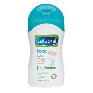 【美国Babyhaven】Cetaphil 丝塔芙 婴儿保湿润肤乳液 13.5盎司(约395毫升)