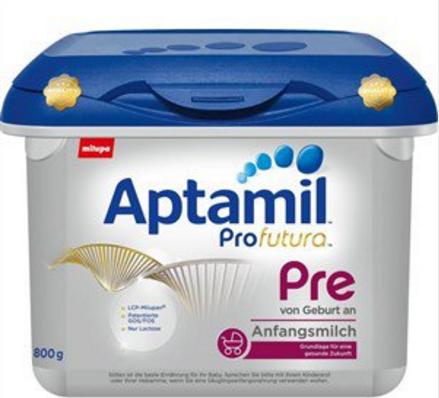 【德国BA】Aptamil 爱他美白金版婴儿配方奶粉 Pre段(0-6个月)800g