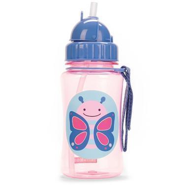 【美国Babyhaven】Skip Hop Zoo系列吸管杯 蝴蝶图案 12盎司