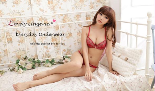 日本乐天内衣推荐 红白玫瑰最性感