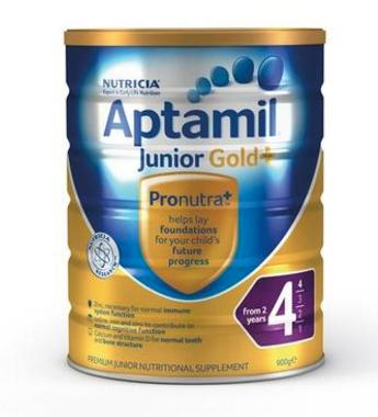 【澳洲PO药房】 Aptamil 澳洲爱他美 金装加强型婴幼儿配方奶粉(4段)2岁+ 900g