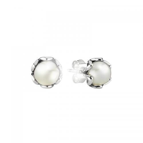 PANDORA潘多拉925银文雅珍珠耳钉 现价402元!