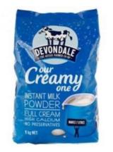 Devondale 德运 全脂高钙成人奶粉 老人/学生 1kg
