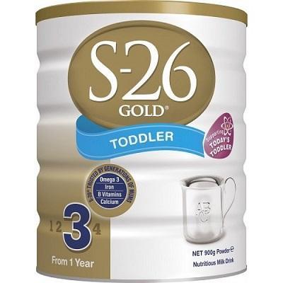 【澳洲RY药房】S-26 澳洲惠氏 金装婴幼儿配方奶粉 3段 900g