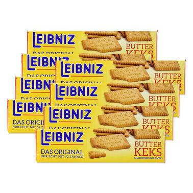 【德国DC药房】【8件装】Leibniz 莱布尼兹 黄油饼干 200g 8袋