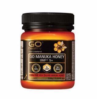 【满89纽免邮】Go Healthy 高之源麦卢卡蜂蜜UMF5+ 250g (MGO80+)