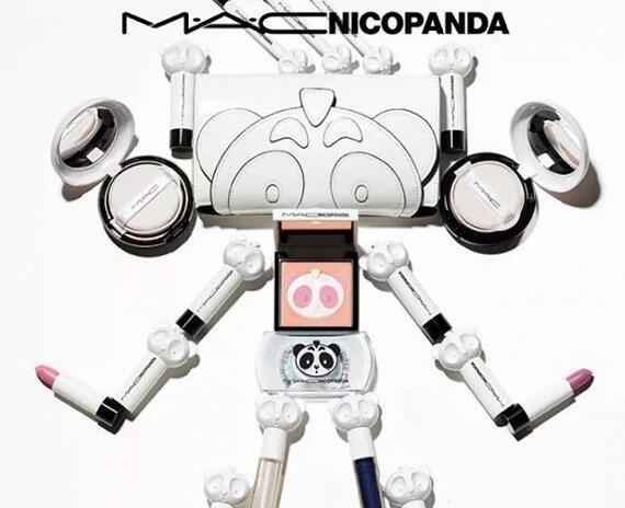 MAC×NICOPANDA联名美妆系列发布