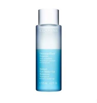 Clarins 娇韵诗 水油分离 即时眼部卸妆水 125ml 针对浓彩妆防水性妆容