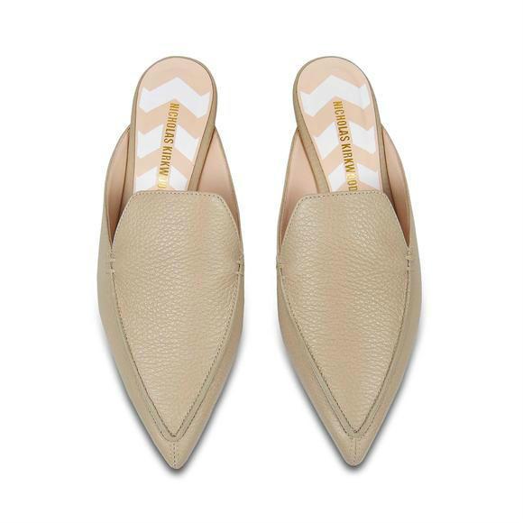 【MF】Nicholas Kirkwood 18mm Beya 平底穆勒鞋