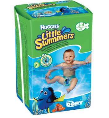 【荷兰DOD】Huggies 好奇 婴儿宝宝游泳防水纸尿裤(小号,适合7-15kg的宝宝)12片
