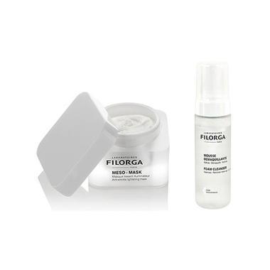 Filorga 菲洛嘉 十全大补水洗面膜 50ml + 玻尿酸卸妆洁面慕斯摩丝150ml
