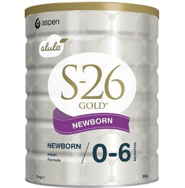 【澳洲RY大药房】S-26 Gold 澳洲惠氏金装一段奶粉 (0-6个月的婴儿) 900g