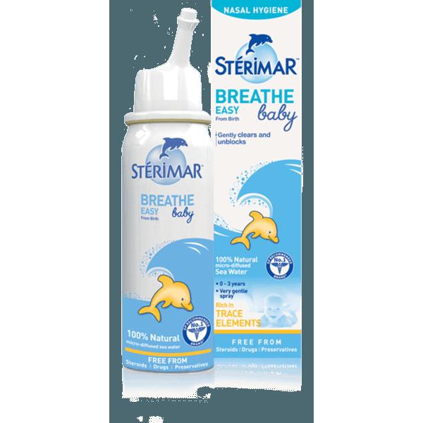 Sterimar 施地瑞玛 小海豚婴幼儿鼻腔护理喷雾 50ml(0-3岁幼儿)