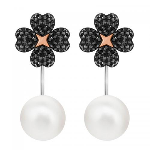 SWAROVSKI施华洛世奇春季新品LATISHA珍珠花朵耳环多种戴法5389161 到手价652元!