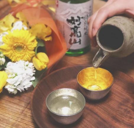 日本赏樱必不可少的好物 日本能作锡制酒杯推荐
