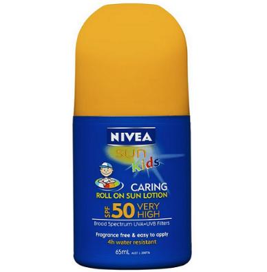 【澳洲RY药房】Nivea 妮维雅 儿童修护防晒滚珠 65ml