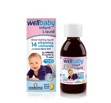 Vitabiotics Wellbaby 婴幼儿复合维生素口服液 150ml