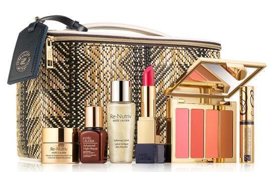 Bergdorf Goodman现有Estee Lauder美妆护肤产品满$180送白金礼包7件套一个