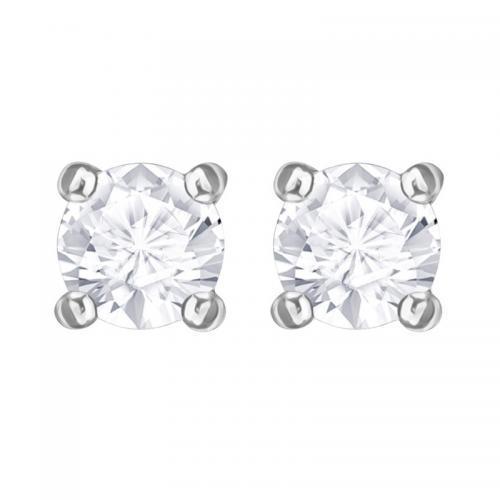 SWAROVSKI施华洛世奇 春季新品ATTRACT 透明仿水晶穿孔耳环5408436,到手价只需398元哟!