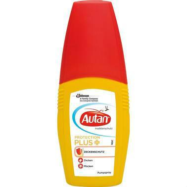 【德国DC药房】Autan 芦荟精华防蜱虫蚊虫喷雾 100 ml