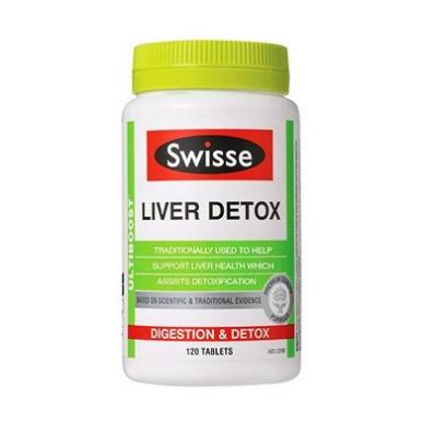 【澳洲RY药房】【加班必备】Swisse 强效肝脏排毒片 120片