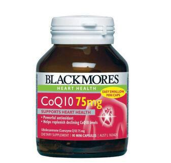 【澳洲CD药房】Blackmores 澳佳宝 Q10营养素 90粒x75mg